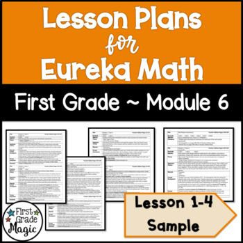 Eureka Math Lesson Plan Template This Product is A Sample Of My Eureka Math Lesson Plans for