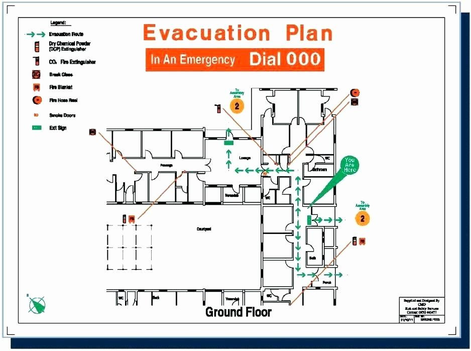 Evacuation Floor Plan Template Emergency Evacuation Plan Template Free Inspirational Fire