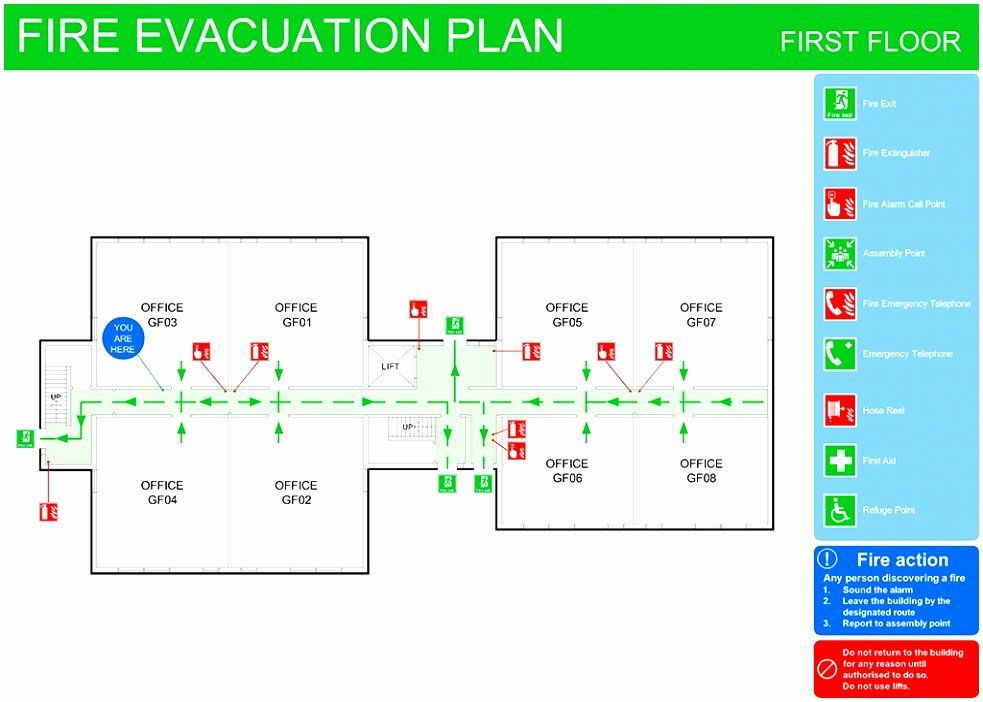 Evacuation Floor Plan Template Emergency Evacuation Plan Template Free New 8 Emergency Exit