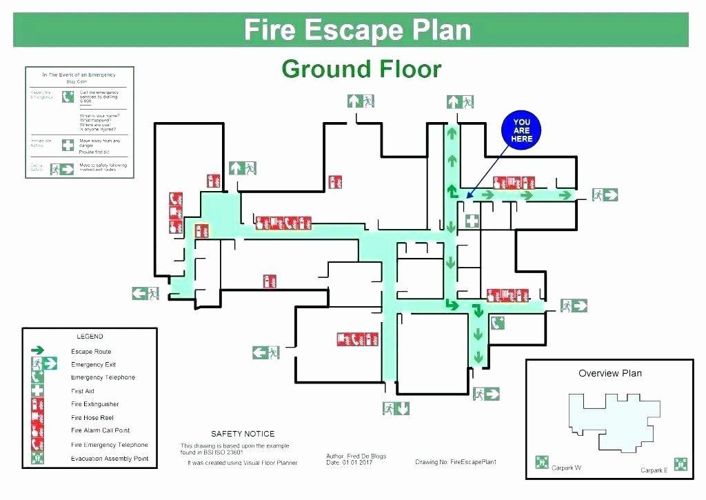 Evacuation Floor Plan Template Emergency Evacuation Plan Template Luxury Emergency