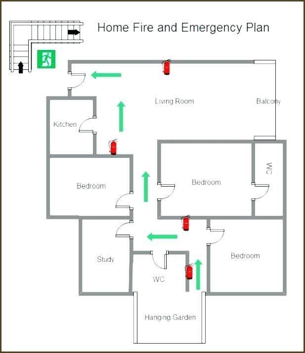 Evacuation Floor Plan Template Fice Floor Plan Templates
