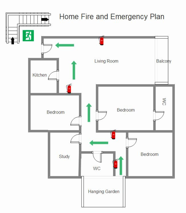 Evacuation Floor Plan Template Fire Evacuation Plan Template Best Protect Your Family