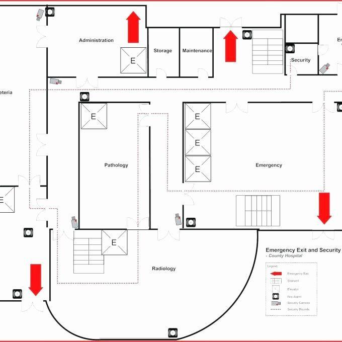 Evacuation Floor Plan Template Home Evacuation Plan Template Fresh 34 Blank Emergency