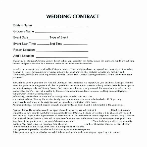 Event Planner Contract Template Wedding Planner Contract Template Free New event Planner