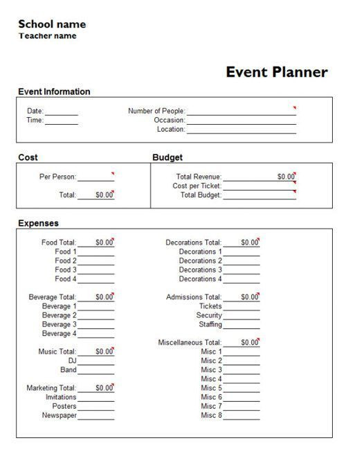 Event Planning Checklist Template Microsoft Pin Auf Wedding event