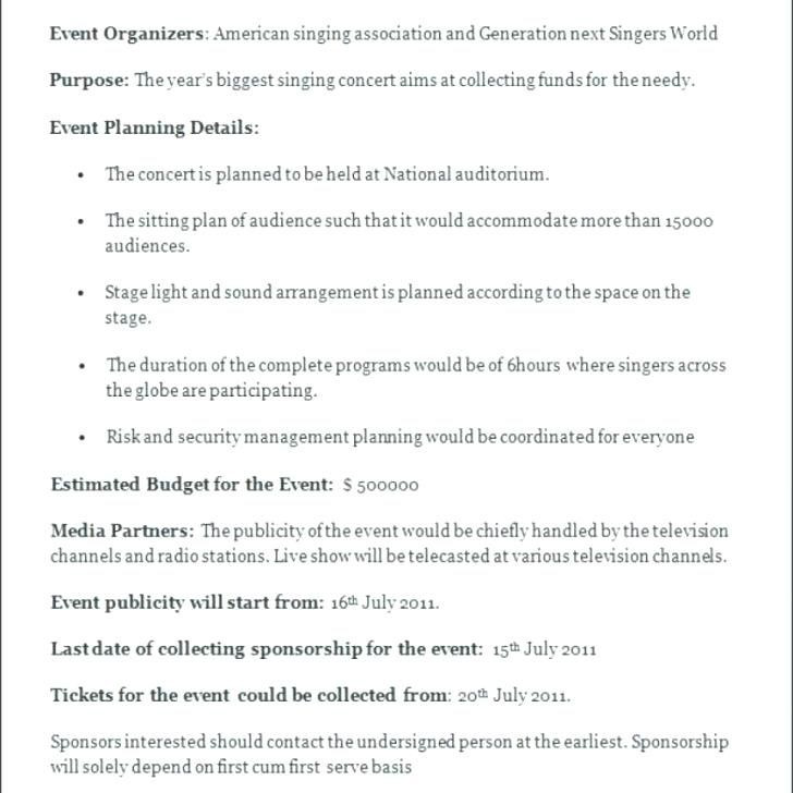 Event Planning Document Template Free event Management Plan Template Planning Document