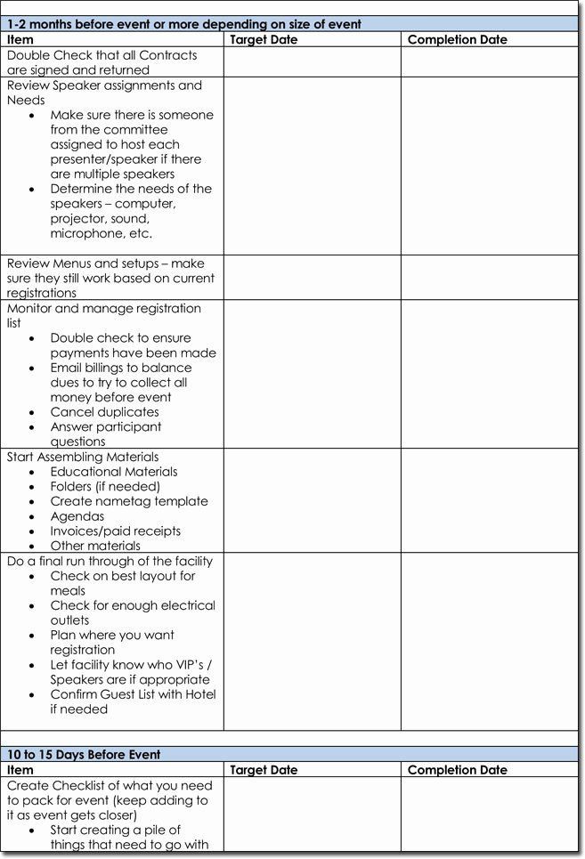 Event Planning Schedule Template event Planning Schedule Template Fresh event Itinerary