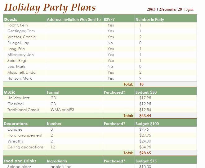 Excel event Planning Template event Planning Schedule Template Inspirational event