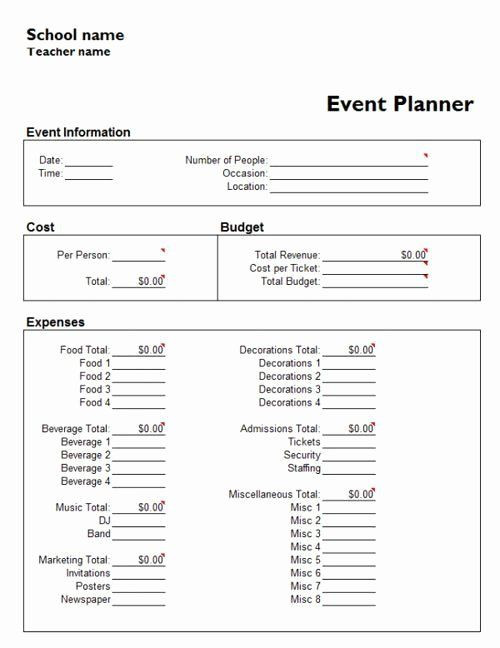 Excel event Planning Template Run Show Template Awesome Template event Run Show