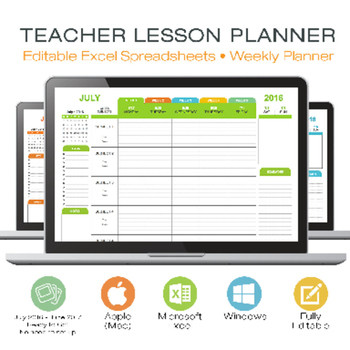 Excel Lesson Plan Template Lesson Plan Template Teacher Digital for Microsoft Excel