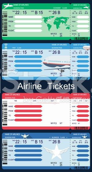 Fake Plane Ticket Template Boarding Pass Templates for Invitations & Gifts