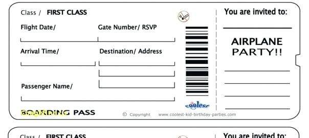 Fake Plane Ticket Template Fake Boarding Pass Boarding Pass Template Free 16 Real