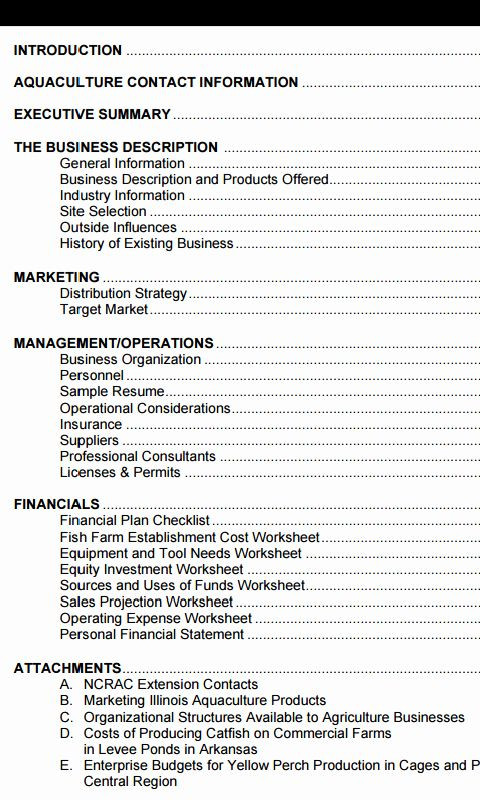 Farm Business Plan Template Free Small Farm Business Plan Template Lovely Farm Business Plan