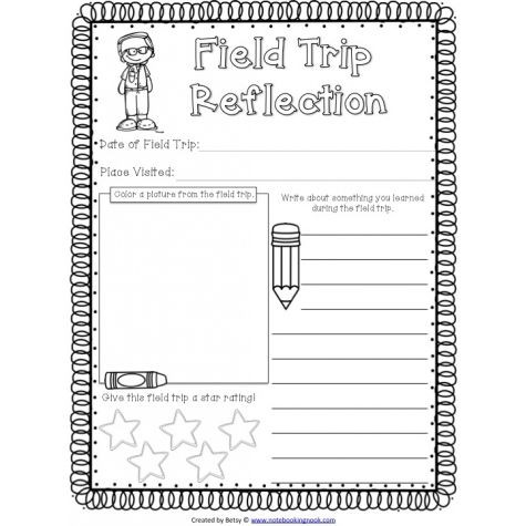 Field Trip Lesson Plan Template Pin On School forms