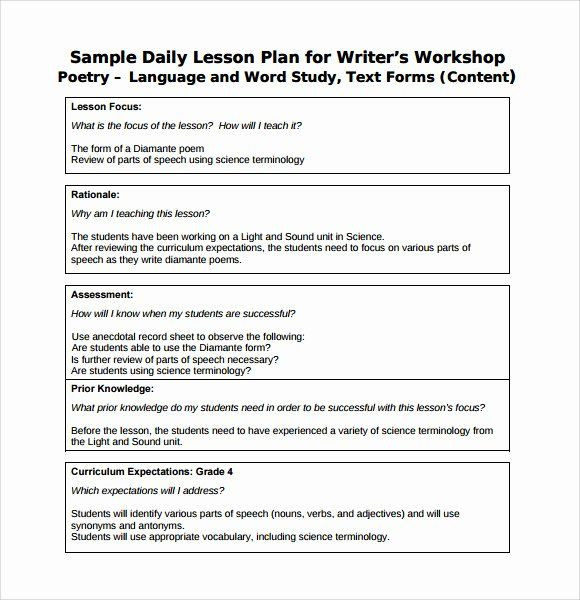 Field Trip Lesson Plan Template Teacher Day Plan Template Lovely Free Weekly Lesson Plan