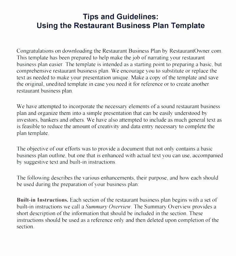 Film Business Plan Template Business Plan Template Elegant Executive Summary A
