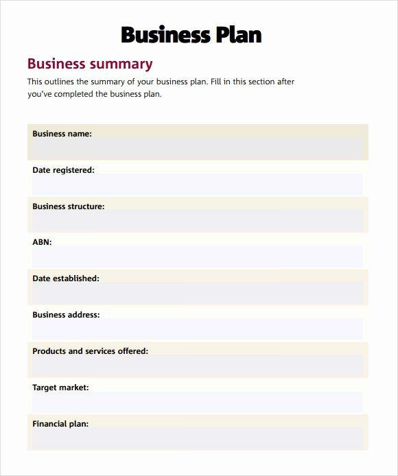 Film Business Plan Template Pin On Business Plan Template for Startups