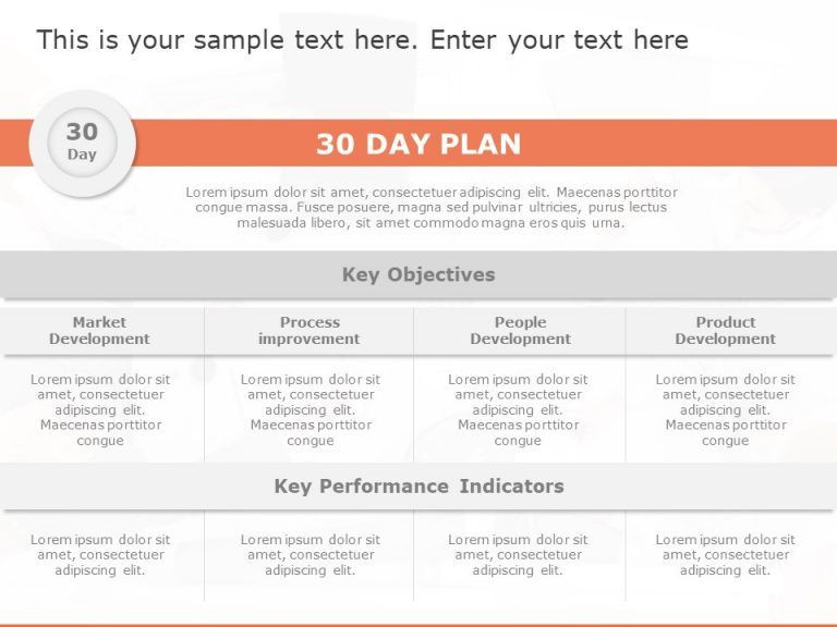 First 90 Days Plan Template 30 60 90 Day Plan Marketing Managers In 2020