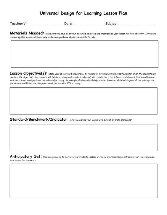 Florida Lesson Plan Template Lesson Plan Template with Standards Elegant Civics Lesson
