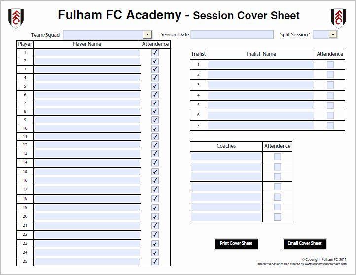 Football Session Plan Template Football Session Plan Template Unique Interactive Session