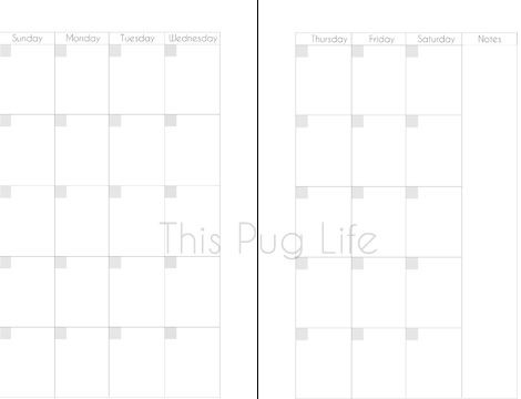 Franklin Covey Weekly Planner Template Free Printable Planner Inserts for Franklin Covey Filofax