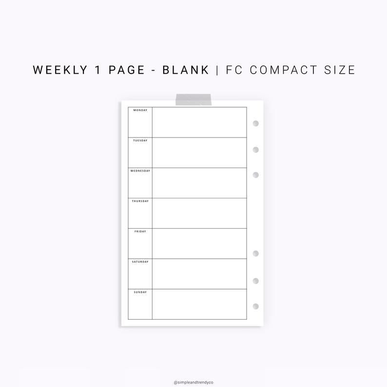Franklin Covey Weekly Planner Template Pin On Minimalist Printable Planner Inserts