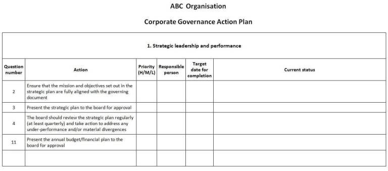 Free Action Plan Template Free Word & Excel Action Plan Templates Word Templates