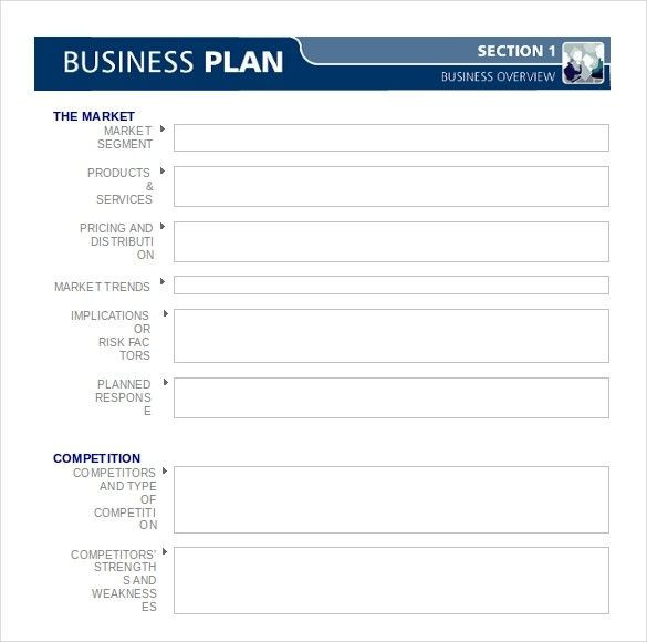 Free Printable Business Plan Template Business Plan Template Word Free Business Plan Template 47