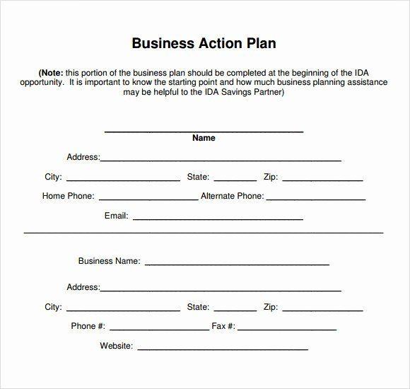 Free Printable Business Plan Template Sample Business Plan Template Inspirational 11 Sample