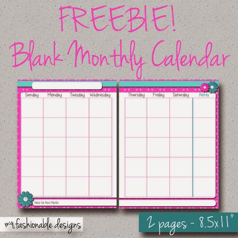 Free Printable Monthly Planner Template Free Printable 2 Page Monthly Calendar Spring Flowers