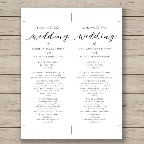 Free Wedding Plan Template Free Word Pdf Psd Documents Download
