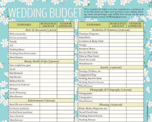 Free Wedding Plan Template Wedding Planner Template Free Download Beautiful Wedding Bud