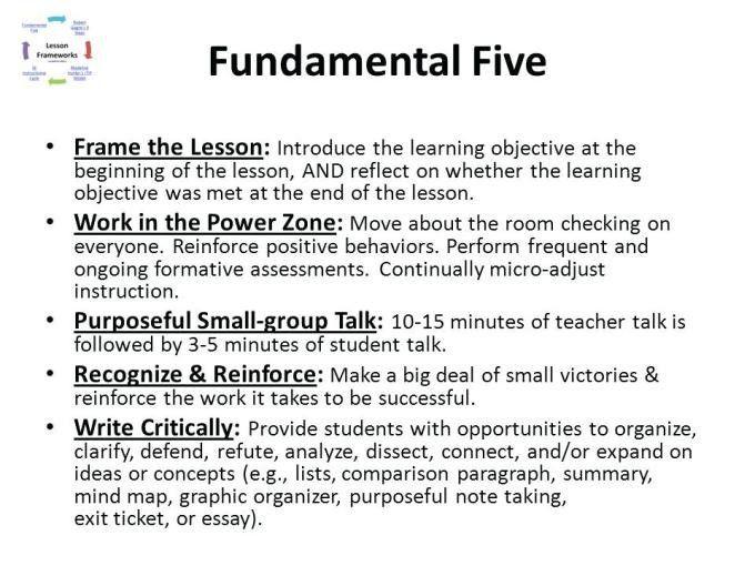 Fundamental 5 Lesson Plan Template Fundamental Five Lesson Plan Template Best Fundamental
