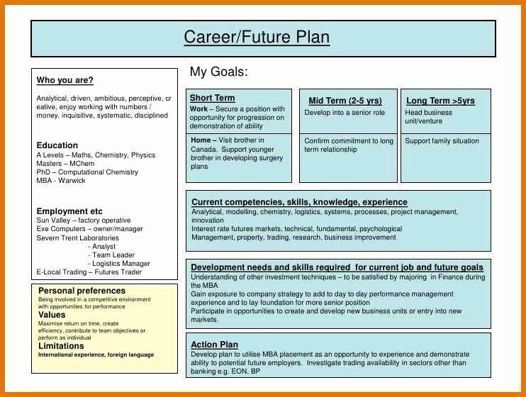 Fundamental 5 Lesson Plan Template Individual Development Plan Examples Elegant Individual