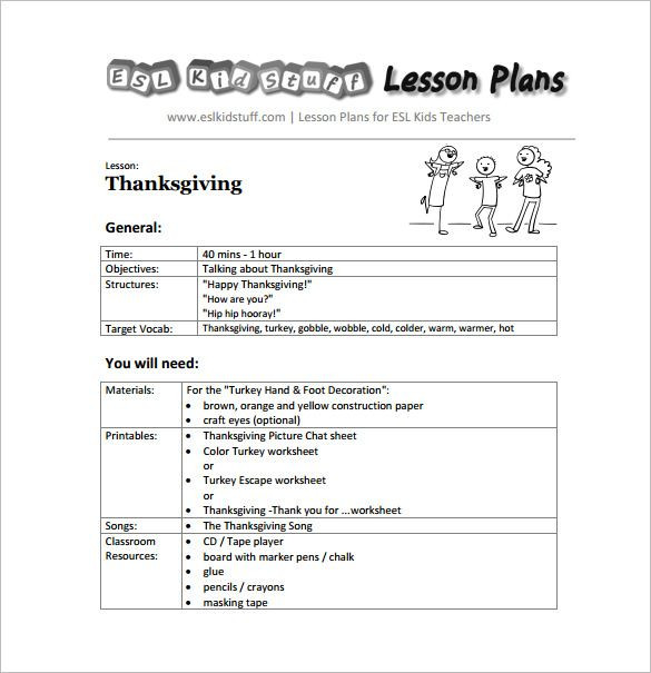 Fundations Lesson Plan Template Pdf Doc Free & Premium Templates