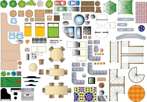 Furniture Template for Floor Plans 1 100 Scale Furniture Templates Google Search