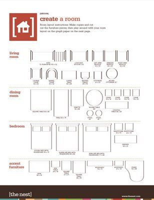 Furniture Template for Floor Plans Decorology Free Printable Room Planner From the Nest