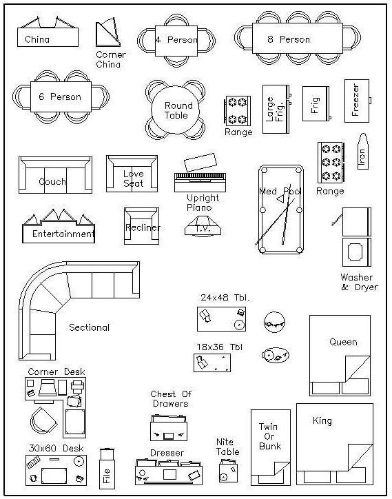 Furniture Template for Floor Plans Loveday Designs Home Planning Templates