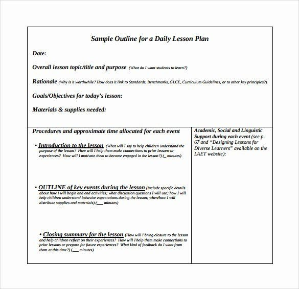 Ganag Lesson Plan Template Interdisciplinary Unit Plan Template New Instructional Unit