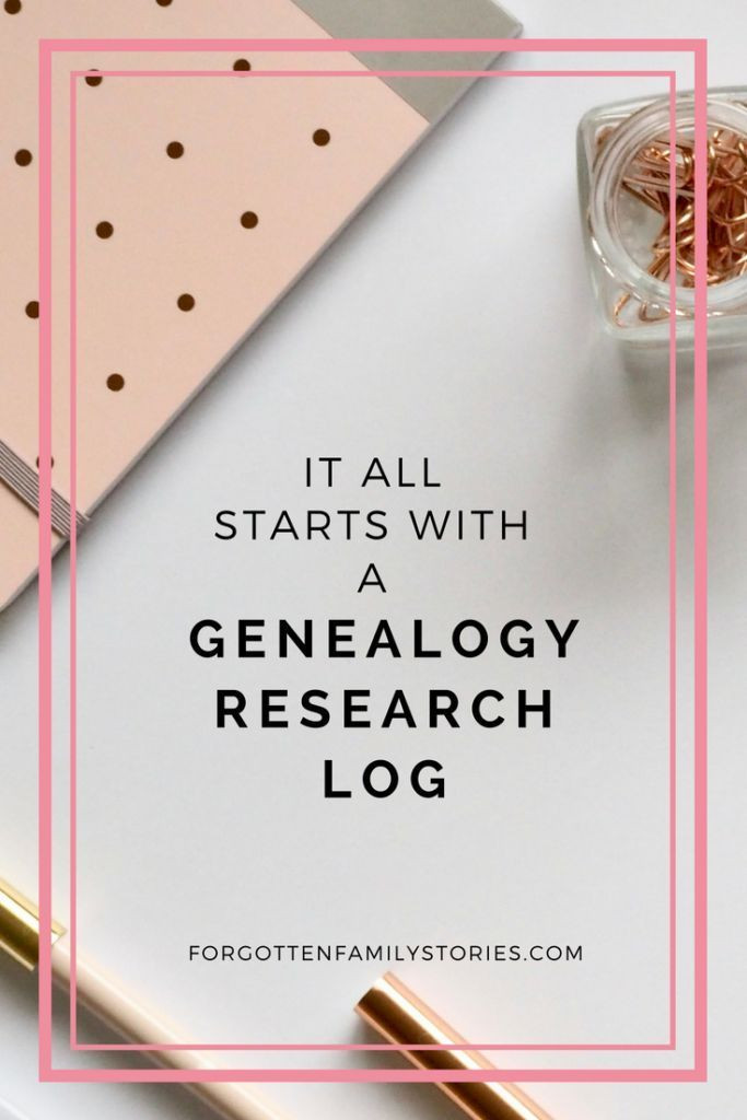 Genealogy Research Plan Template It All Starts with A Genealogy Research Log forgotten