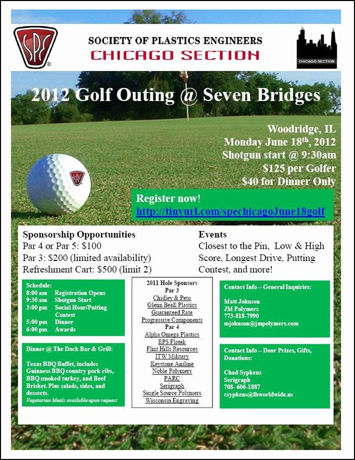Golf tournament Planning Template Golf tournament Brochure Template Lovely Golf Outing Flyer