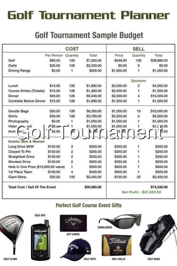 Golf tournament Planning Template Pin On Golf event