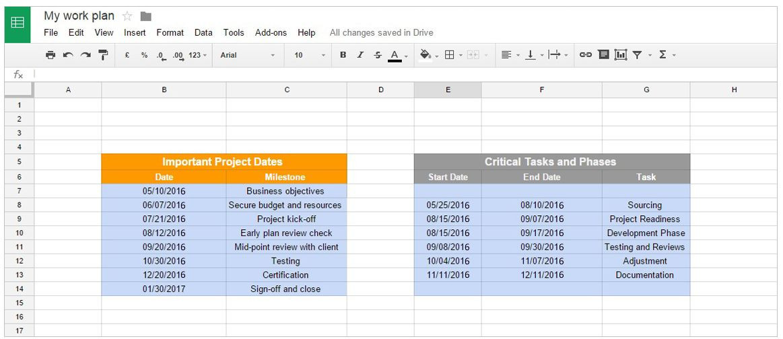 Google Docs Project Plan Template Fice Timeline Gantt Charts In Google Docs This Gantt