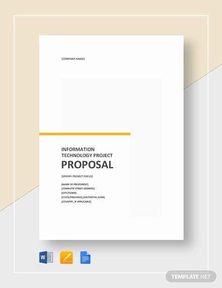 Google Docs Project Plan Template Google Docs Proposal Template Lovely 9 It Project Proposal