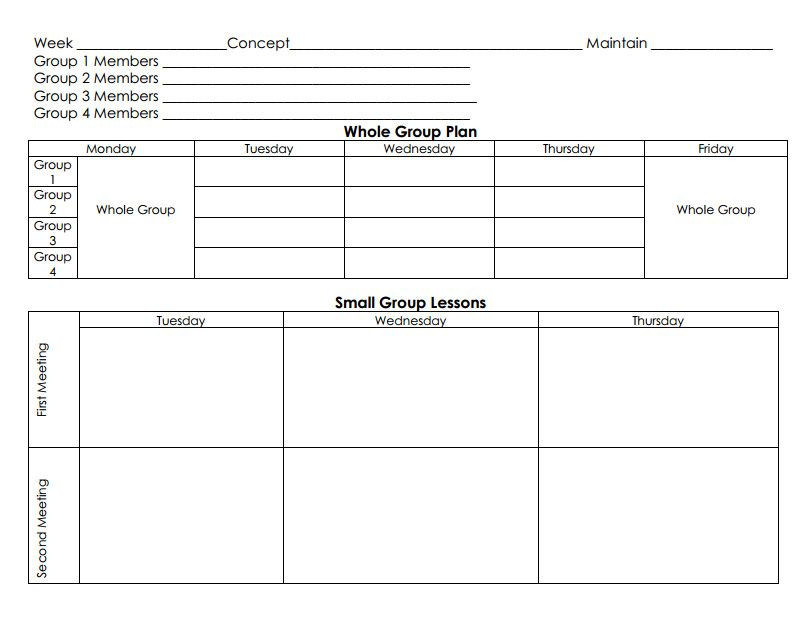 Guided Math Lesson Plan Template 20 Go Math Lesson Plan Template In 2020