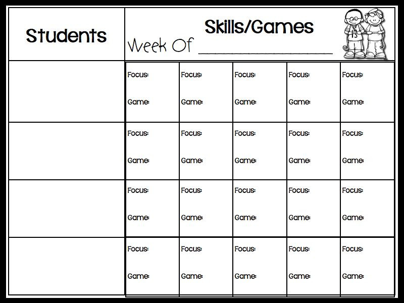 Guided Math Lesson Plan Template Lesson Plan Template for Guided Math Groups Free