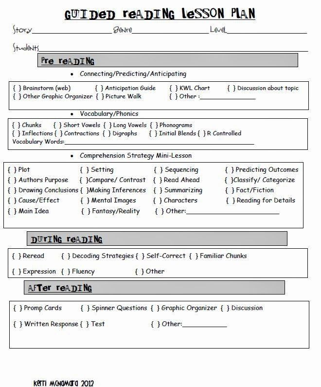 Guided Reading Lesson Plan Template Guided Reading Lesson Plan Template Best 116 Best Leveled