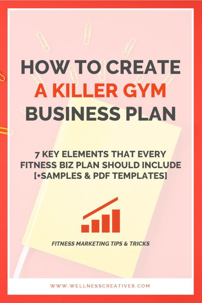 Gym Business Plan Template Gym Business Plan Essentials [ Fitness Center Template