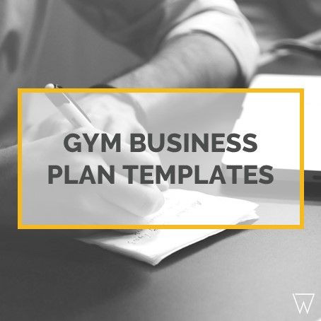 Gym Business Plan Template Preparing A Gym Business Plan Can Be Daunting This Cheat