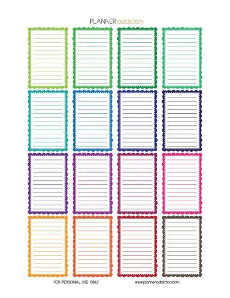 Happy Planner Sticker Template Inbox – Dbdove51 Gmail